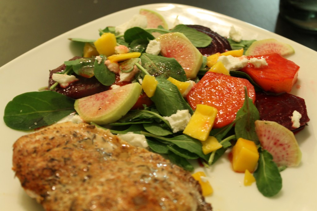 habanero-honey-roasted-beet-salad